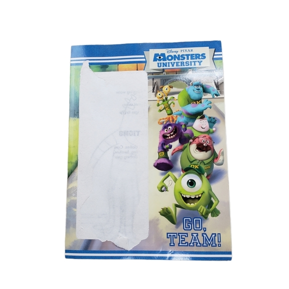 [Disney Pixar] Monsters University Paint Pages